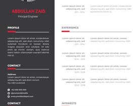 KareemAhmed55 tarafından Professional CV Design (Resume) için no 51