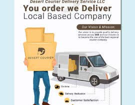 #45 для Flyer and banner design for a delivery company от amitmajumder1993