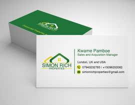 Nro 208 kilpailuun Business card käyttäjältä RubinaKanwal