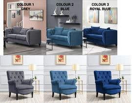 Nro 32 kilpailuun Change yellow chair to Blue, Royal Blue and Grey käyttäjältä pearljan