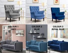 Nro 91 kilpailuun Change yellow chair to Blue, Royal Blue and Grey käyttäjältä bayazidhossain29