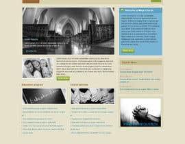 cdesigneu tarafından Redesign parish website için no 15