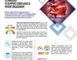#15 for TargetHIX Pain Assessment & General Marketing Flyer af colorss