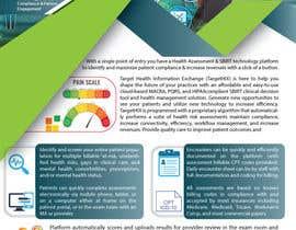 #53 for TargetHIX Pain Assessment & General Marketing Flyer af amahmud01711