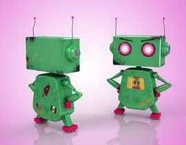 #72 for 3D Robot Design / Logo af robertclaria