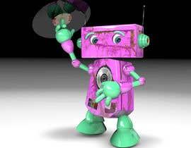 #61 для 3D Robot Design / Logo от chonoman64