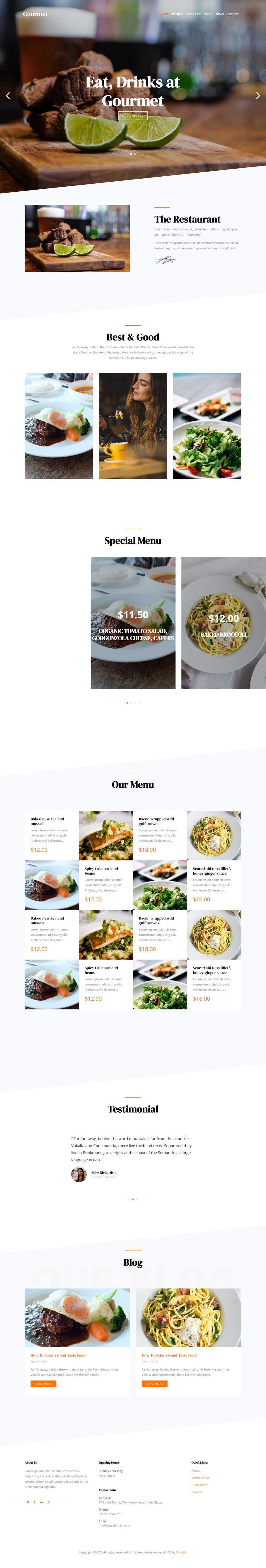 Kilpailutyö #                                        120                                      kilpailussa                                         Restaurant website