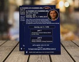 #131 para Flyer for Channeled Evening por mithunmarandi