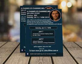 #132 para Flyer for Channeled Evening por mithunmarandi