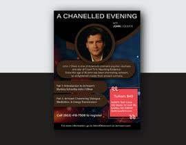 #58 para Flyer for Channeled Evening por AnandAlpha4ever