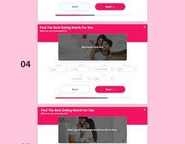 #14 cho Create a survey landing page design for a Facebook campaign (dating) bởi mdziakhan
