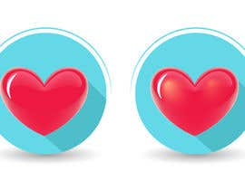 #24 untuk Heart icon for gamification currency on diabetes website oleh jitp