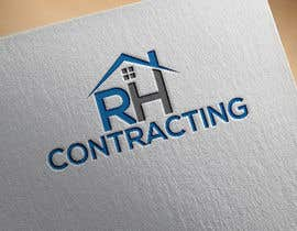 #70 untuk RH Contracting Logo Design oleh hawatttt