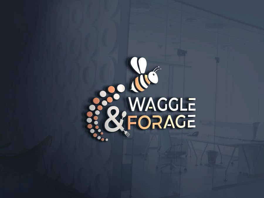 """Contest Entry #                                        760                                      for                                         Logo design for new small business - """"Waggle & Forage"""""""