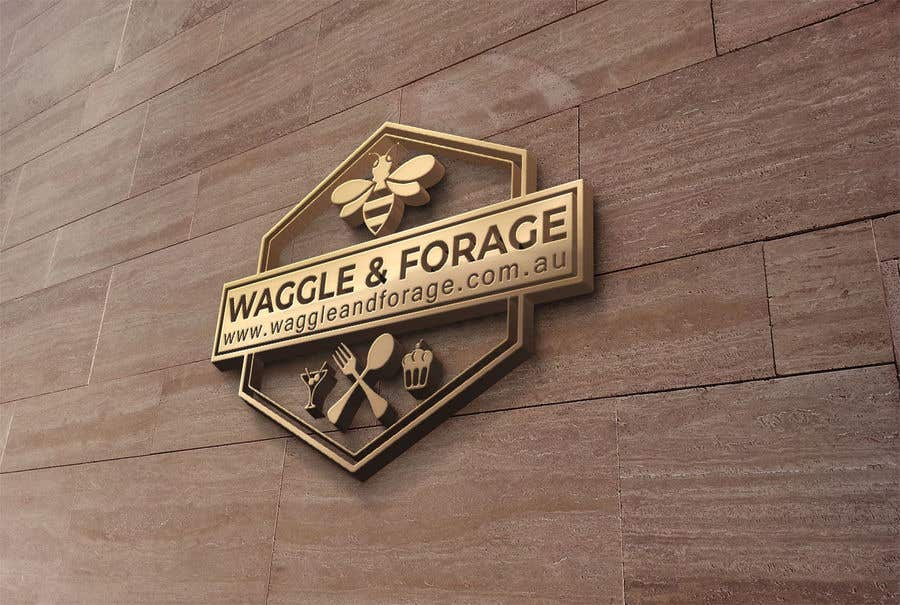 """Contest Entry #                                        843                                      for                                         Logo design for new small business - """"Waggle & Forage"""""""