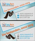 Graphic Design Konkurrenceindlæg #3 for Business Card Design for Copytech.nl