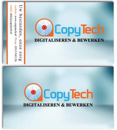 Konkurrenceindlæg #                                        25                                      for                                         Business Card Design for Copytech.nl
