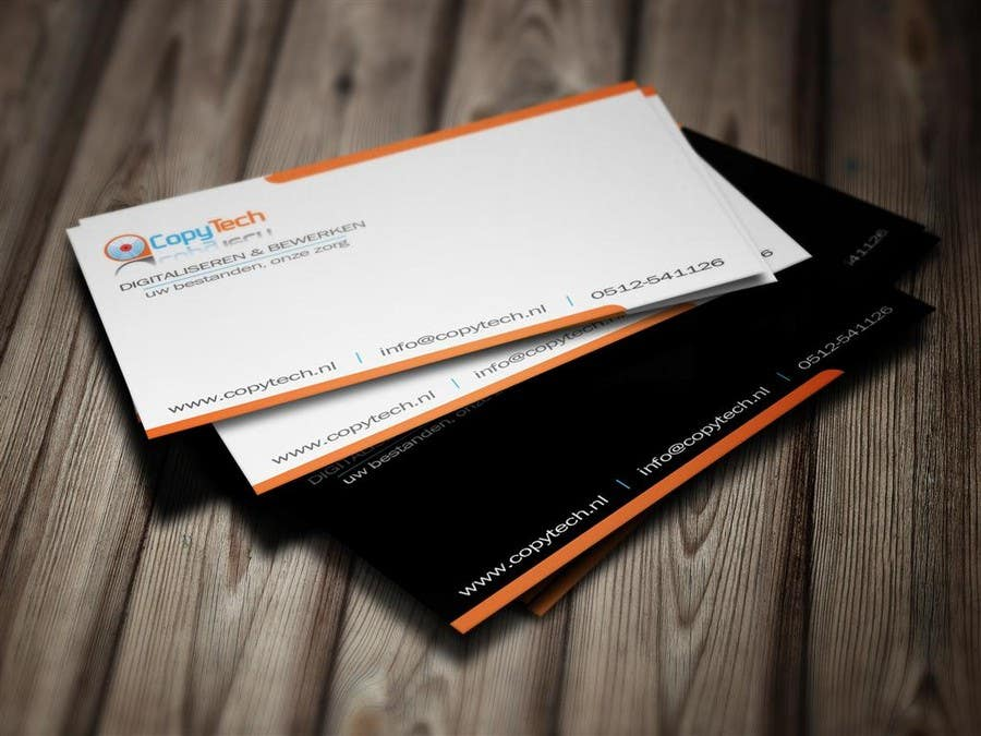 #10 for Business Card Design for Copytech.nl by MagicProductions