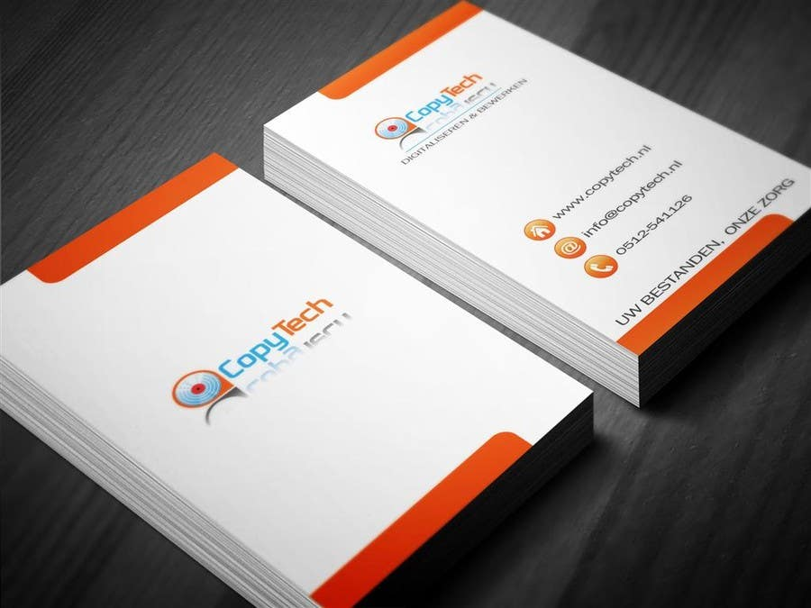 #44 for Business Card Design for Copytech.nl by MagicProductions