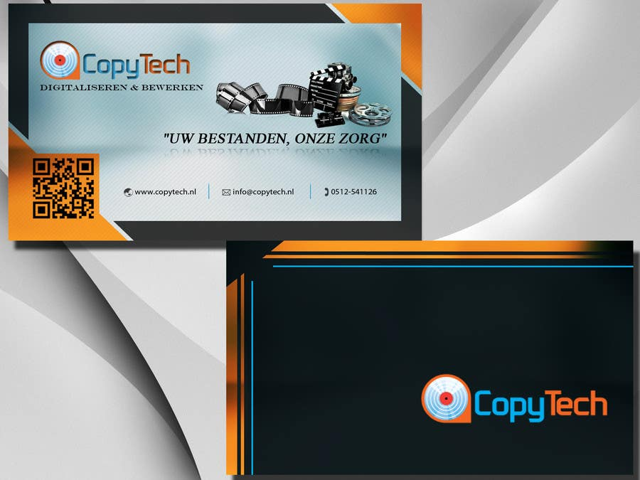 #48 for Business Card Design for Copytech.nl by argpan