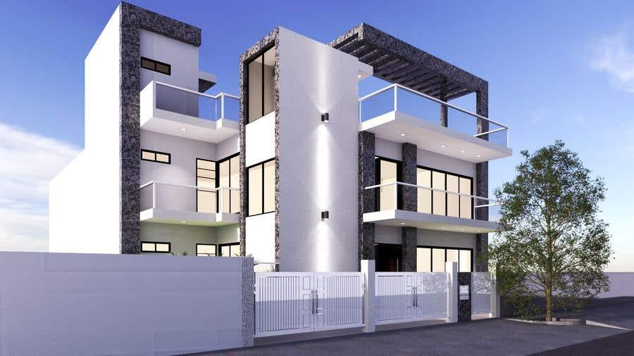 Bài tham dự cuộc thi #2 cho House facade design