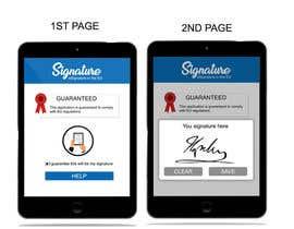#7 untuk Build an App for legally valid document signature oleh sasindu112