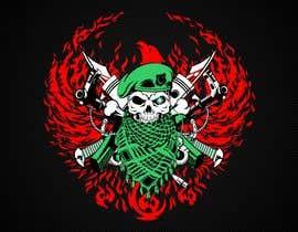 Nro 146 kilpailuun T-Shirt Design - Illustrate an evil skull (UP-004) käyttäjältä xetus