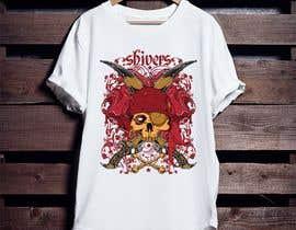 Nro 92 kilpailuun T-Shirt Design - Illustrate an evil skull (UP-004) käyttäjältä sumonhosen888