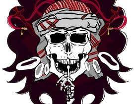 Nro 83 kilpailuun T-Shirt Design - Illustrate an evil skull (UP-004) käyttäjältä deepakkandiyil