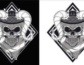 Nro 115 kilpailuun T-Shirt Design - Illustrate an evil skull (UP-004) käyttäjältä skewness888