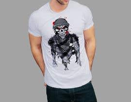 Nro 123 kilpailuun T-Shirt Design - Illustrate an evil skull (UP-004) käyttäjältä creativeshathy