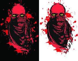 Nro 95 kilpailuun T-Shirt Design - Illustrate an evil skull (UP-004) käyttäjältä tshirtdesigner8