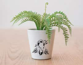 #28 for Create Three Wolves Design for Planters af Sonuxverma007