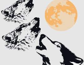 #13 for Create Three Wolves Design for Planters af izoka01