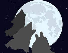 #16 for Create Three Wolves Design for Planters af arash92blc