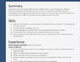 #16 for Update my CV by rafsanAbir