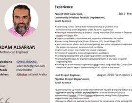 #14 for Update my CV by Writerdelwar