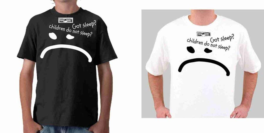 Proposition n°                                        95                                      du concours                                         T-shirt Design for Tired Teddies Guerrilla Marketing Campaign