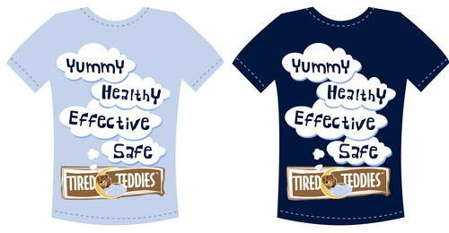 Proposition n°                                        5                                      du concours                                         T-shirt Design for Tired Teddies Guerrilla Marketing Campaign