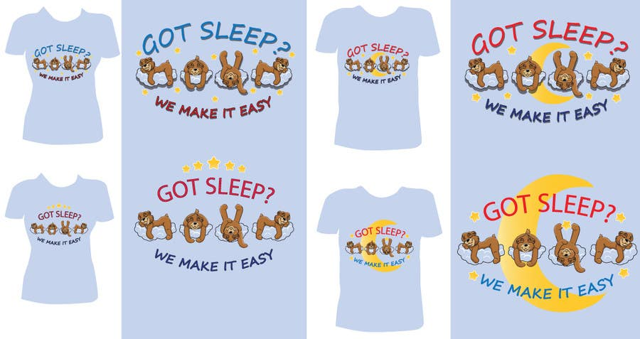 Proposition n°                                        42                                      du concours                                         T-shirt Design for Tired Teddies Guerrilla Marketing Campaign