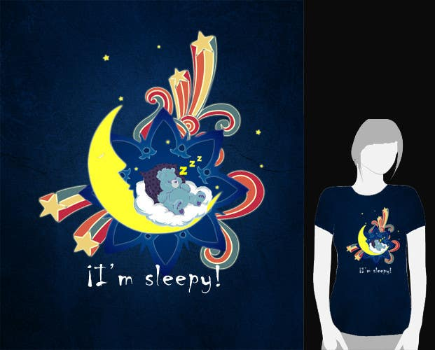 Proposition n°                                        9                                      du concours                                         T-shirt Design for Tired Teddies Guerrilla Marketing Campaign