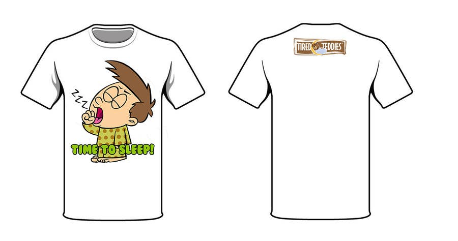 Proposition n°                                        75                                      du concours                                         T-shirt Design for Tired Teddies Guerrilla Marketing Campaign