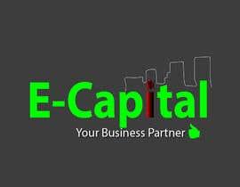 Nro 43 kilpailuun Logo for E-Capital käyttäjältä bibekanandaseth1
