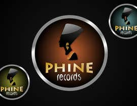 nº 32 pour Logo Design for Phine Records par dimitarstoykov