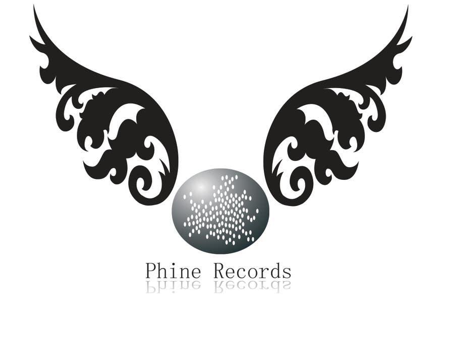 Penyertaan Peraduan #                                        34                                      untuk                                         Logo Design for Phine Records