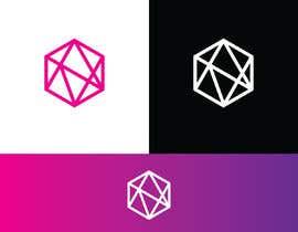 #51 for Realizzazione logo minimale, geometrico, lineare (Simile a quello in allegato - Con un esagono) by tanvirahmmed67
