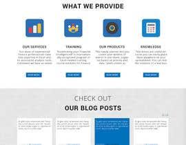 bilawalalishah tarafından Design a Website Mockup for Access Analytic için no 13
