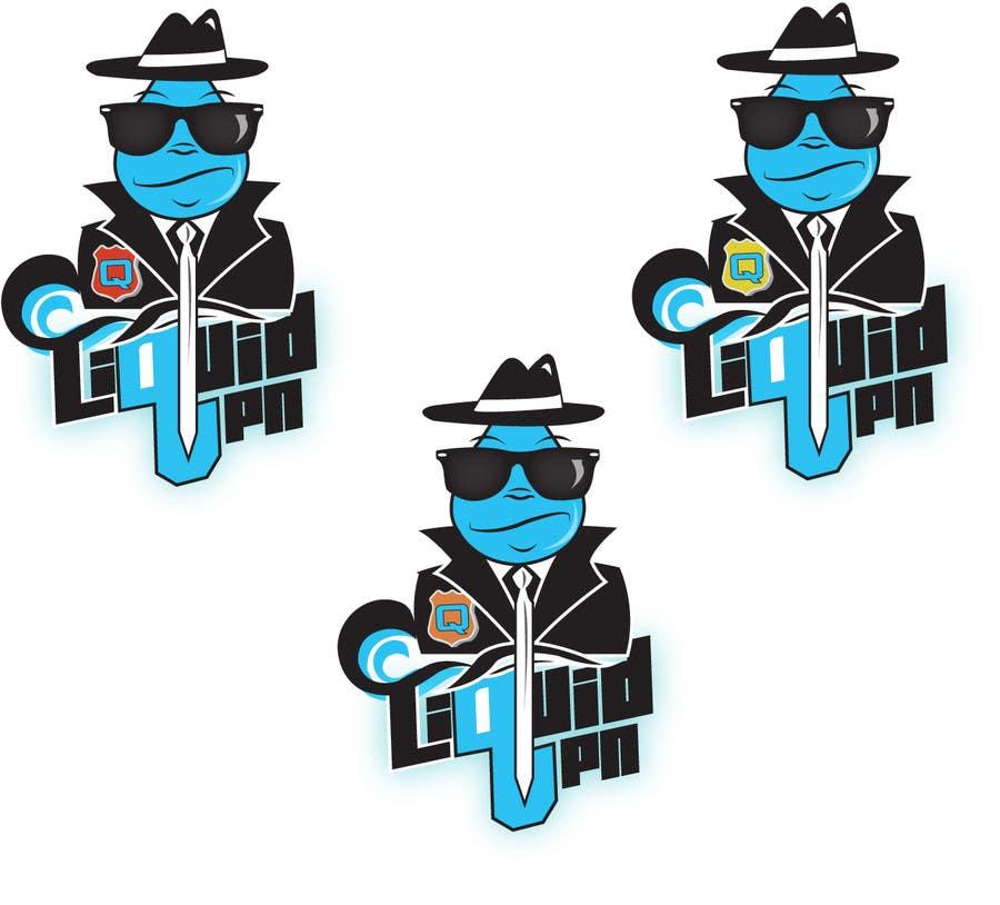 Penyertaan Peraduan #                                        61                                      untuk                                         Logo Design for LiquidVPN