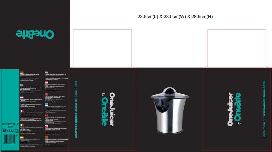 Bài tham dự cuộc thi #                                        10                                      cho                                         Create Minimalistic Print and Packaging Designs for a Citrus Juicer