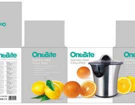 #15 cho Create Minimalistic Print and Packaging Designs for a Citrus Juicer bởi MarinaMarkizova
